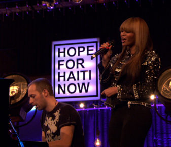 Hope For Haiti – Beyonce & Chris Martin